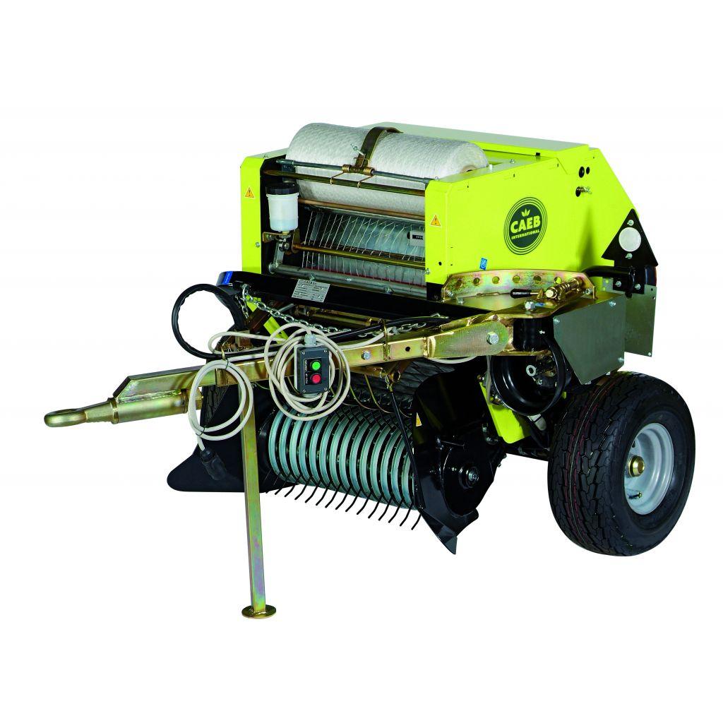 Mini presse balles mountainpress mp 550 tpl pour micro tracteurs caeb - Mini tracteur tondeuse ...