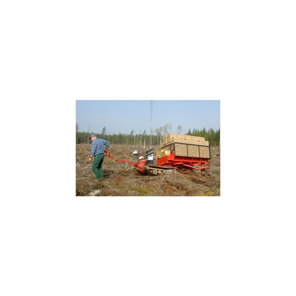 mini d u00e9busqueur transporteur a chenilles cheval de fer lennartsforst suede moteur thermique