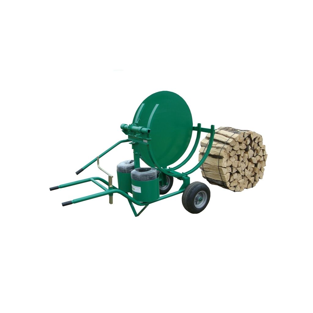 Enstereuse fagoteuse fagotier pour conditionner des petits fagots de buches de bois de chauffage - Une stere de bois ...