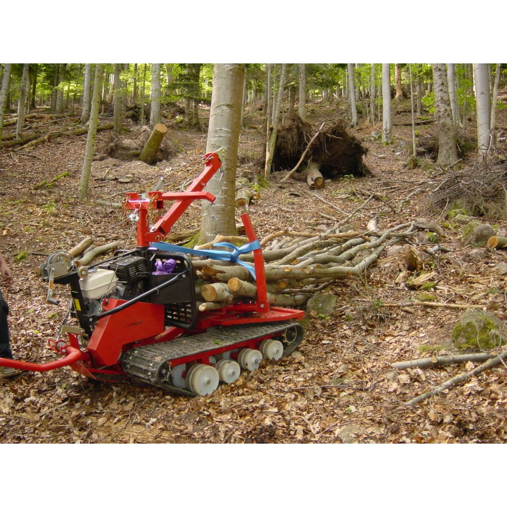 tracteur forestier a chenille occasion